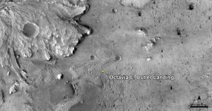 NASA named the Mars Rover landing site after a well-known black-science author