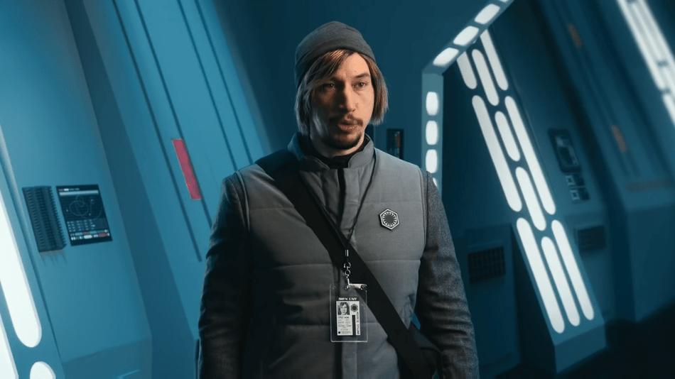 Adam Driver's Kylo Ren returns to 'Undercover Boss' on 'SNL'
