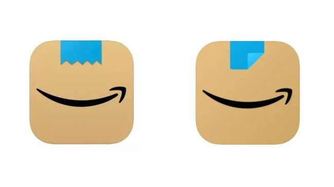 Amazon changes app icon again, ditching that problematic 'mustache'