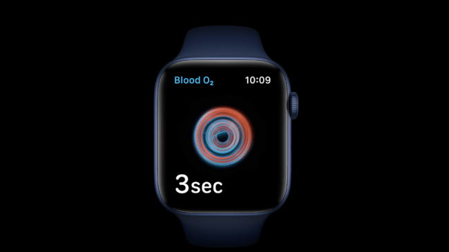 Apple is using its new blood oxygen measurement tool to study COVID