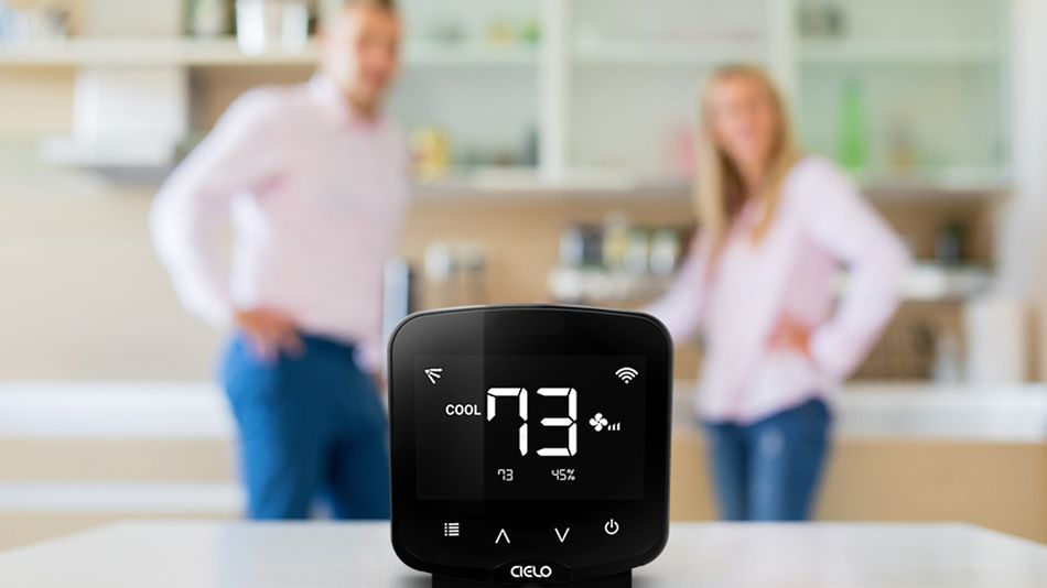 Keep your home temperature stable with a smart thermostat.