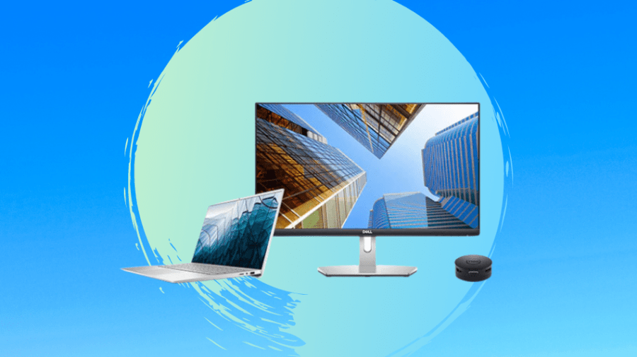 Build the perfect WFH office with a Dell laptop and monitor bundle that saves you $495