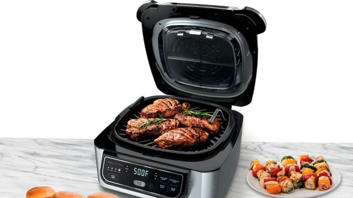 Put your grilling and roasting skills in gear this fall with the Ninja Foodi Pro and its built-in temperature probe.