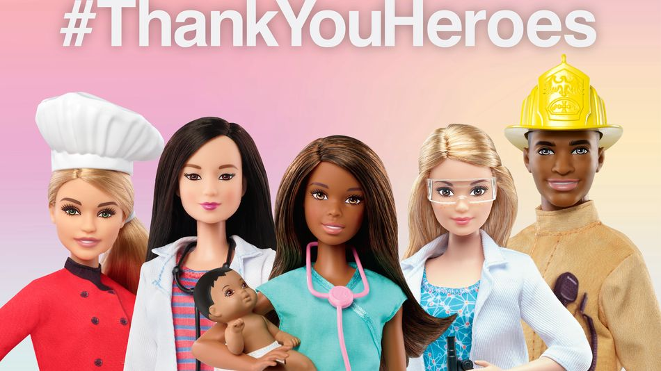 Barbie to donate dolls to the kids of first responders