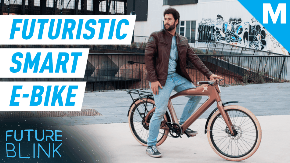 Control this e-bike with your face — Future Blink