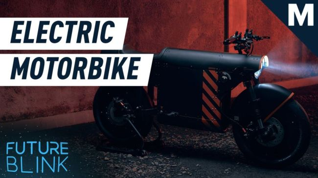 This electric motorbike's design is inspired by WWII aircrafts — Future Blink