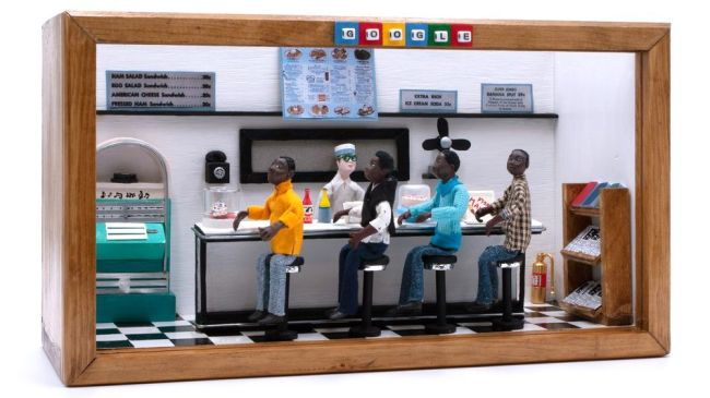 Google Doodle honors 60th anniversary of Greensboro Sit-in