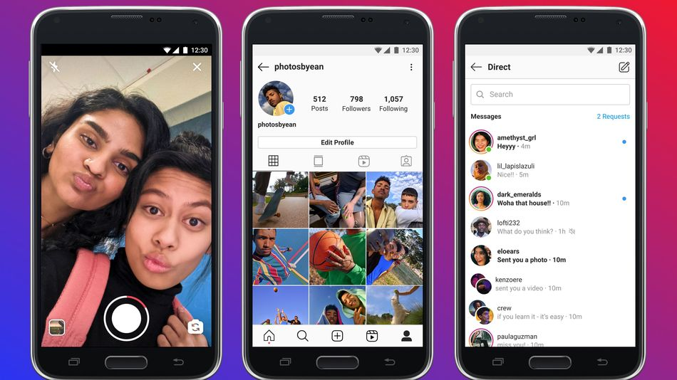 Instagram Lite should provide a good experience on older phones and slower networks.