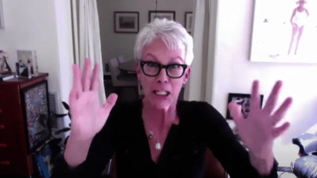 Jamie Lee Curtis on the very real struggle to get hold of toilet paper in the pandemic