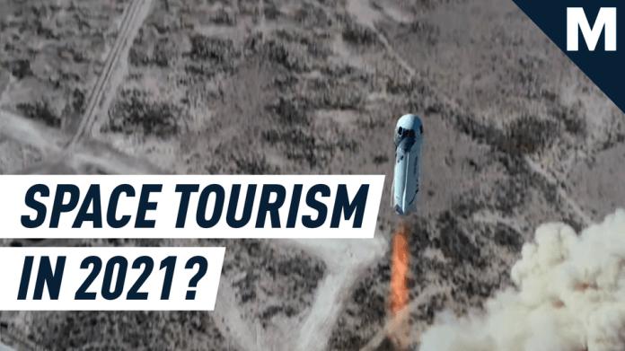Blue Origin está listo para comenzar a vender boletos de viajes espaciales suborbitales