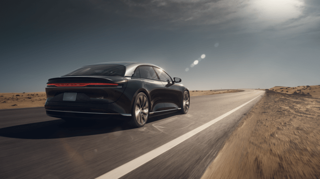 Lucid Air's battery range blows past Tesla