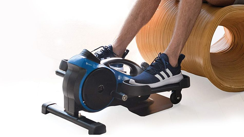 Pedal while you sit at your desk.