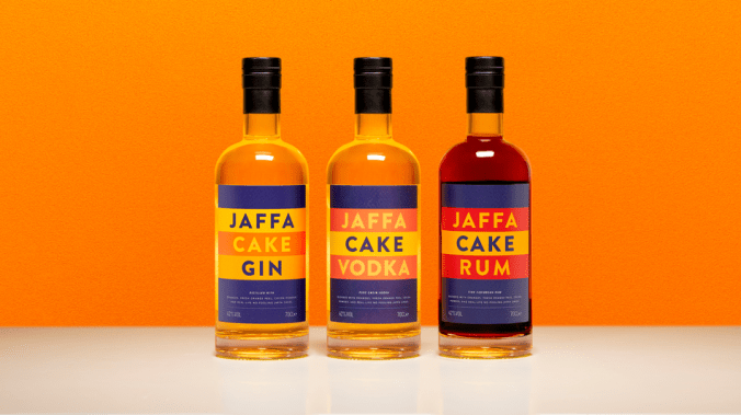 Yes, you can now buy spirits distilled with real jaffa cakes