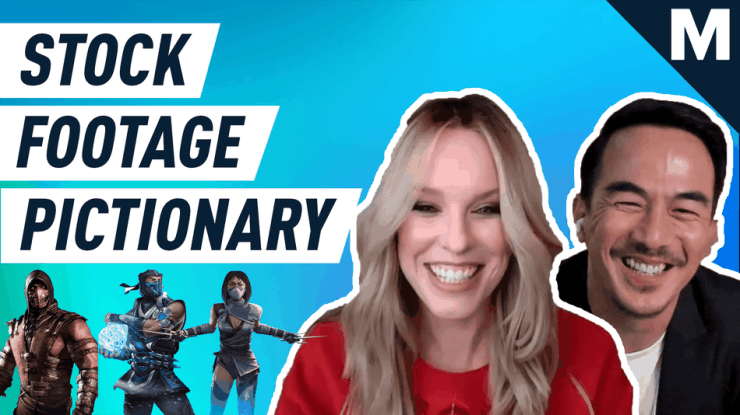 Watch the 'Mortal Kombat' cast struggle to guess their own characters