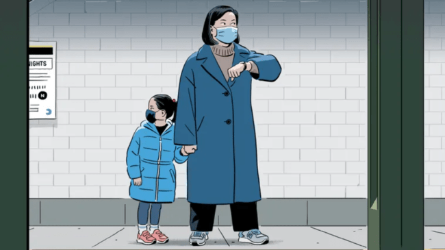 Powerful 'New Yorker' cover captures Asian American fears amidst hate crimes