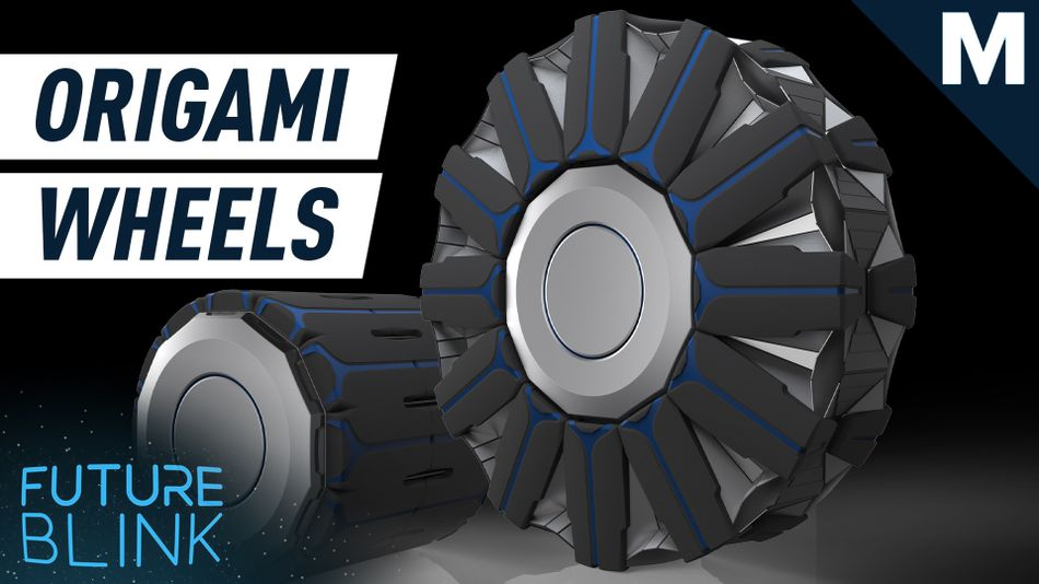 Researchers studied origami patterns for nearly 10 years to make shape shifting wheels  — Future Blink