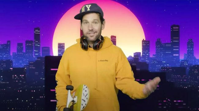 Paul Rudd, Certified Young Person, has a PSA on wearing masks
