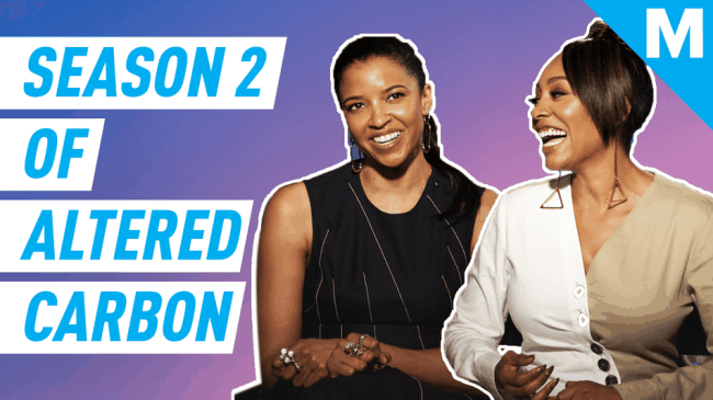'Altered Carbon's' Goldsberry and Missick talk superpowers, Beyonce, and inclusion