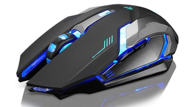 Gadgets: This LED backlit mouse features high-precision positioning, a true gaming sensor, and more.