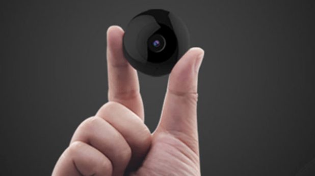 Security: The TOKK™ CAM C2 is just 1.5 inches wide and offers discreet recording.