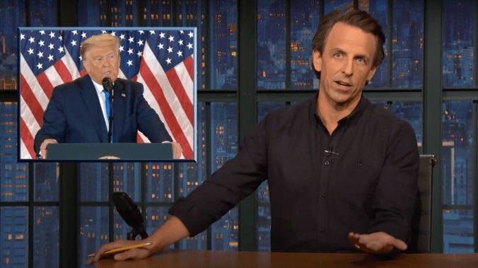 Seth Meyers explains why Republicans are to blame for the Midwest's delayed election results