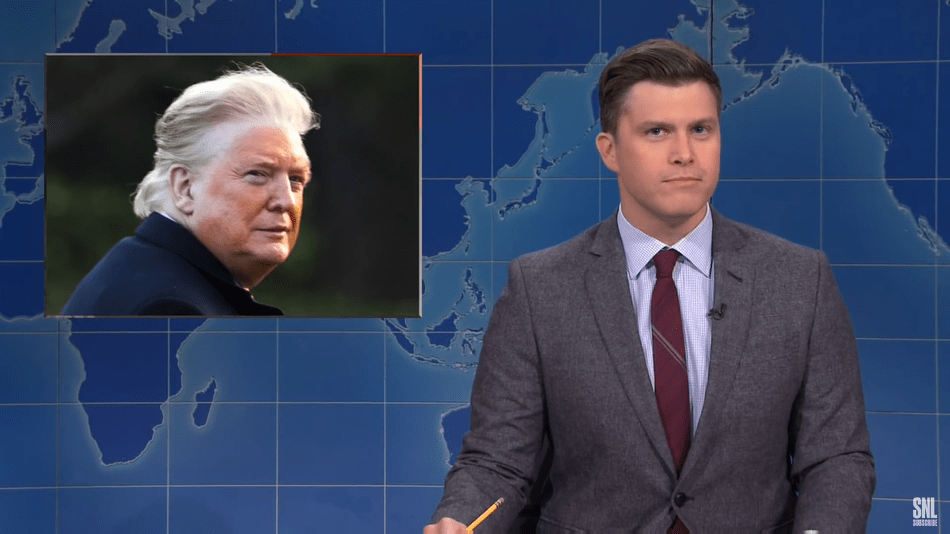 'SNL' Weekend Update has some thoughts on Donald Trump's tan line