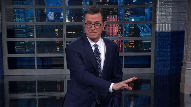 Stephen Colbert cracks jokes about the latest royal family drama