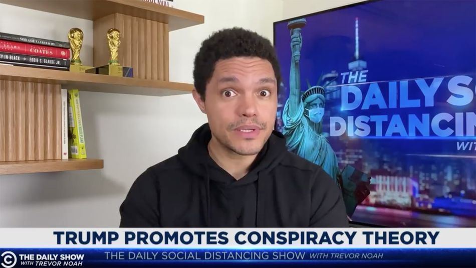 Trevor Noah tears into Trump's lie about elderly protester injured by police