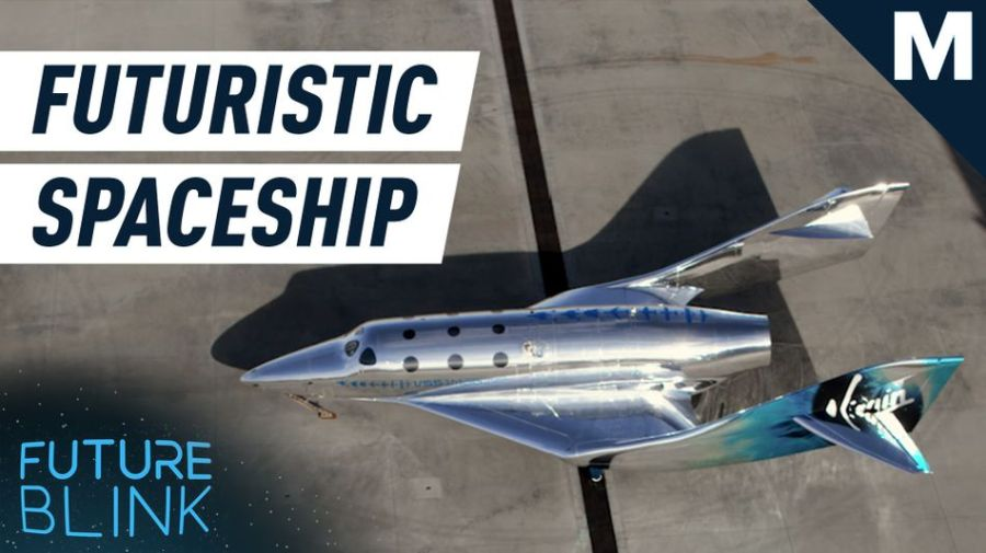 Virgin Galactic made a spaceship that can reflect its surroundings — Future Blink