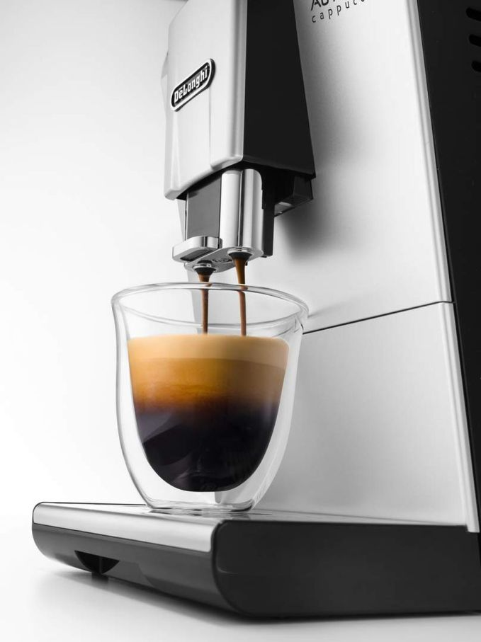 The De Longhi Authentic Cup Bean Automatic Coffee Machine is on sale for under £ 340