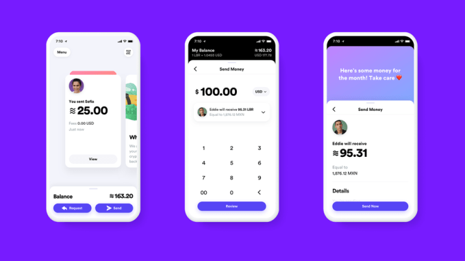 First look at Facebook's Calibra crypto-currency wallet.