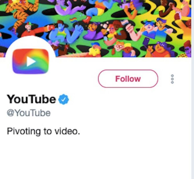 YouTube was criticized by the LGBTQ community last month