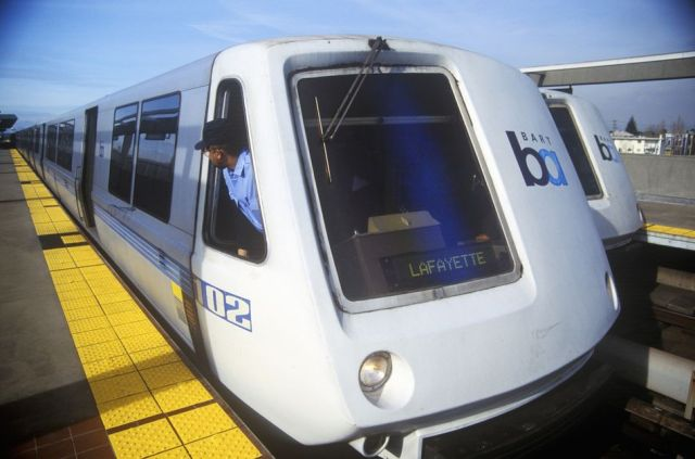 California's Bay Area Rapid Transit [BART], experienced heat-related delays in June 2019.