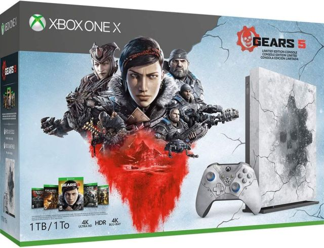 The 'Gears 5' limited edition Xbox is *sick* and available for pre-order