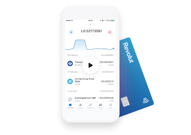 Blockchain: Revolut finally launches debit card and app in the United States