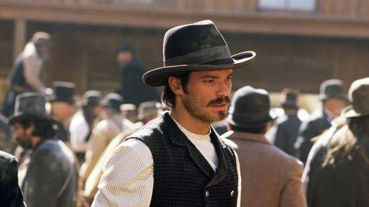 Timothy Olyphant as Sheriff Seth Bullock in the 19th-century-set western 'Deadwood.'