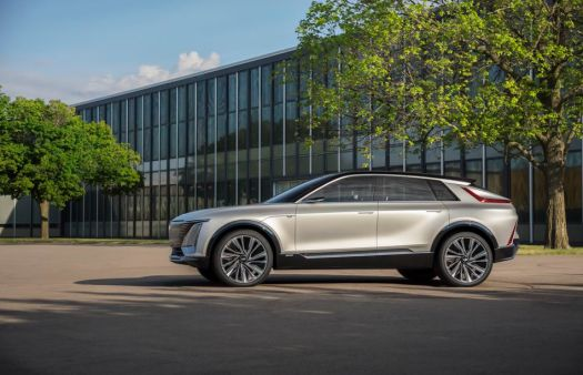The first-ever electric Cadillac.