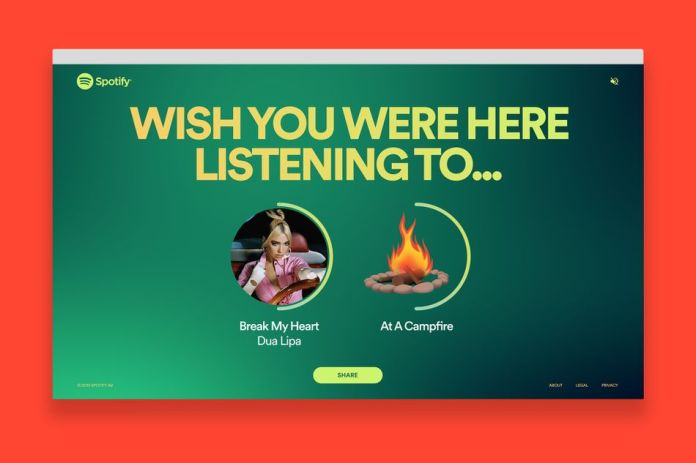 Spotify's summer sound effects feature lets you pretend you're somewhere that's not your bedroom