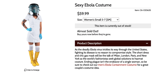 10 Halloween costumes you really shouldn't wear this year