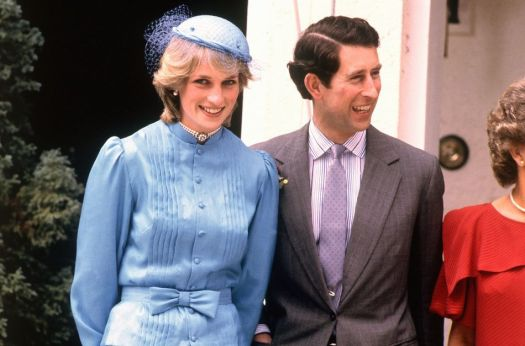 Blue always was Princess Diana's best color.