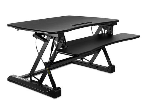 WFH more efficiently in 2021 with a standing desk converter on sale