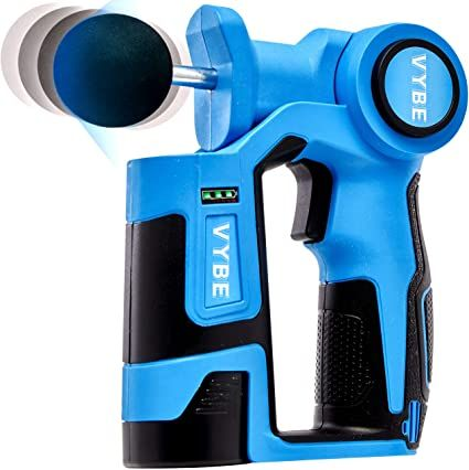 Give the gift of muscle relief this year with a Vybe massage gun for $50 off