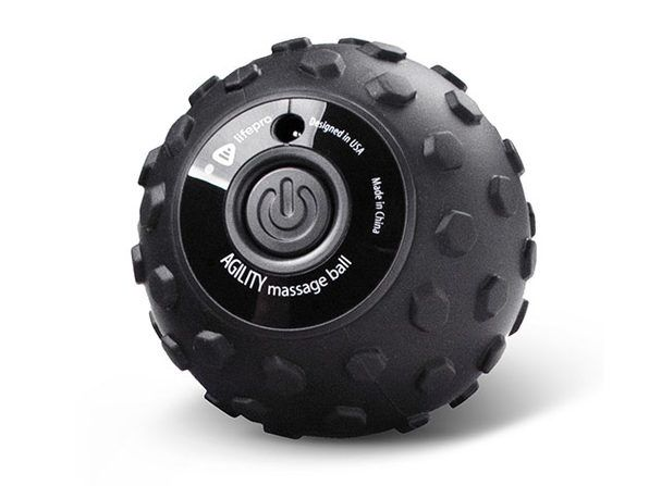 Work out aches and pains with a 4-speed vibrating massage ball