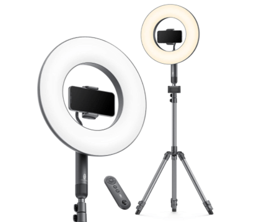 This ring light tripod stand is the ultimate TikTok accessory