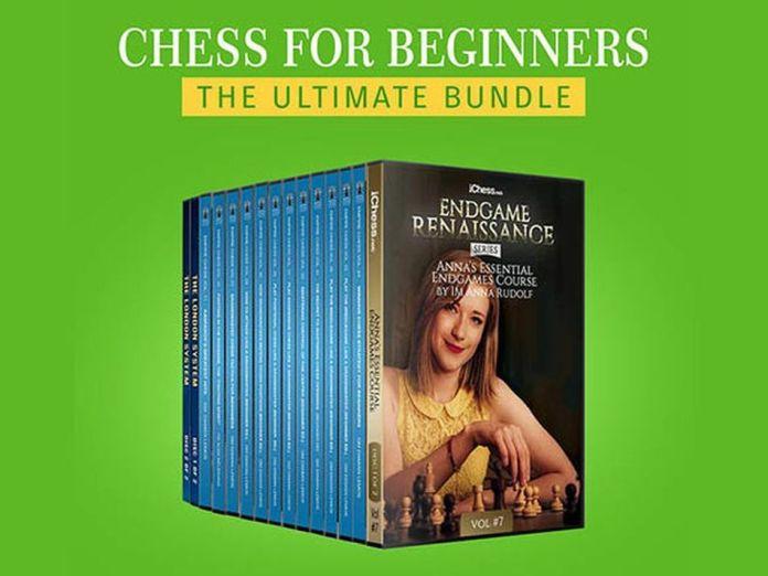 Este paquete de cursos de ajedrez para principiantes está a la venta con un 87% de descuento