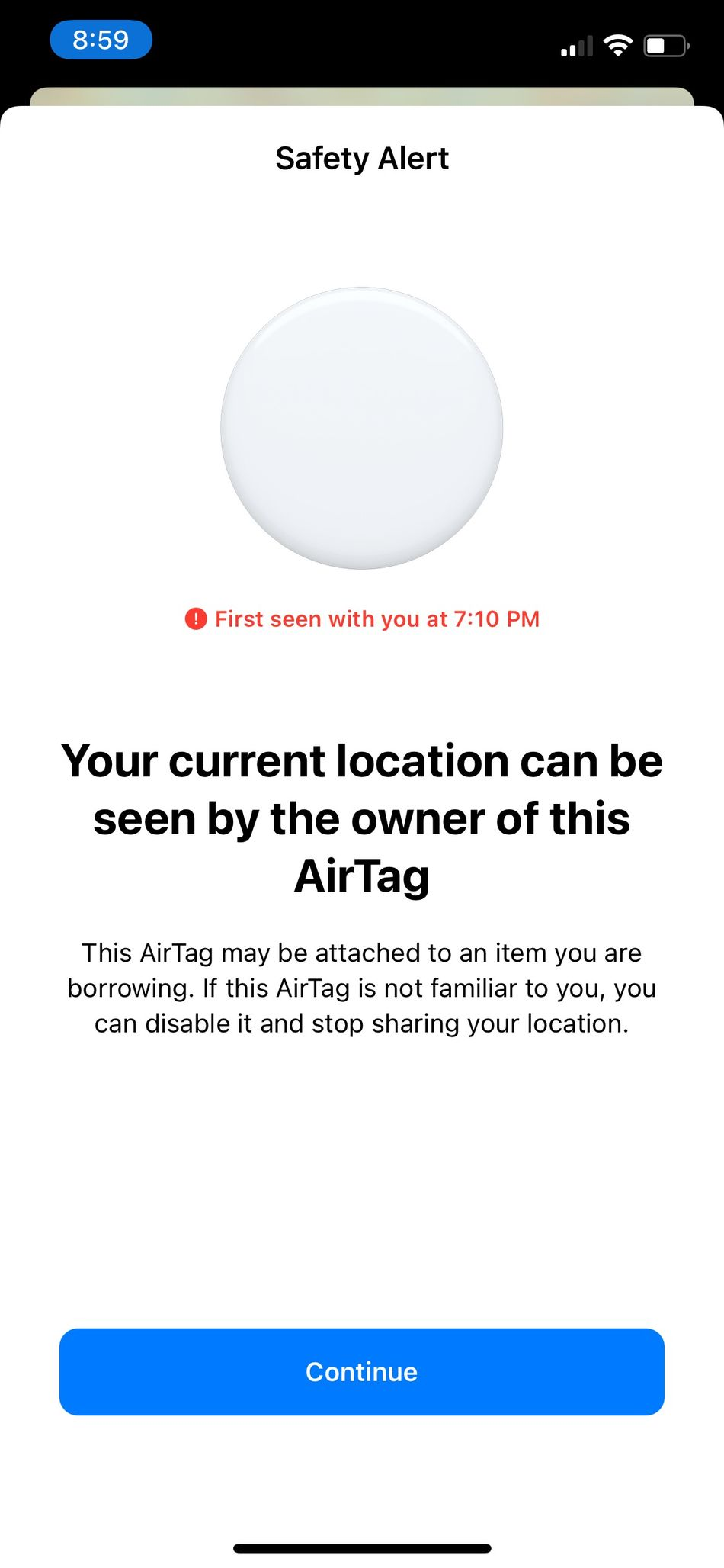 This is the safety alert you'll receive on your iPhone.