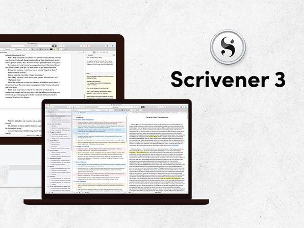 Best-selling authors use Scrivener 3 — get a lifetime subscription for $30