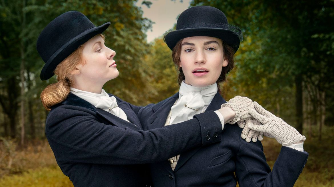 Linda (Lily James) and Fanny (Emily Beecham).