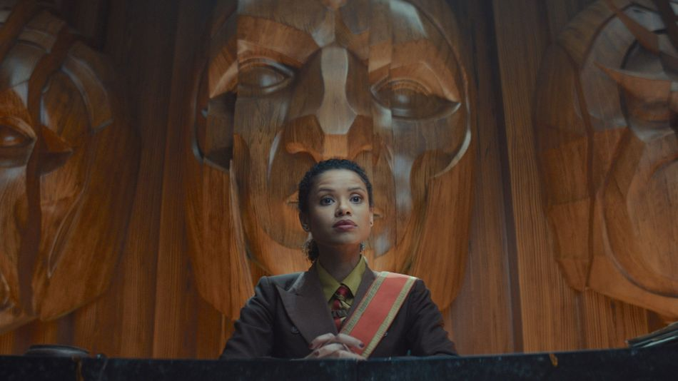 Judge Renslayer (Gugu Mbatha-Raw) is ready to convict Loki on-sight for crimes against