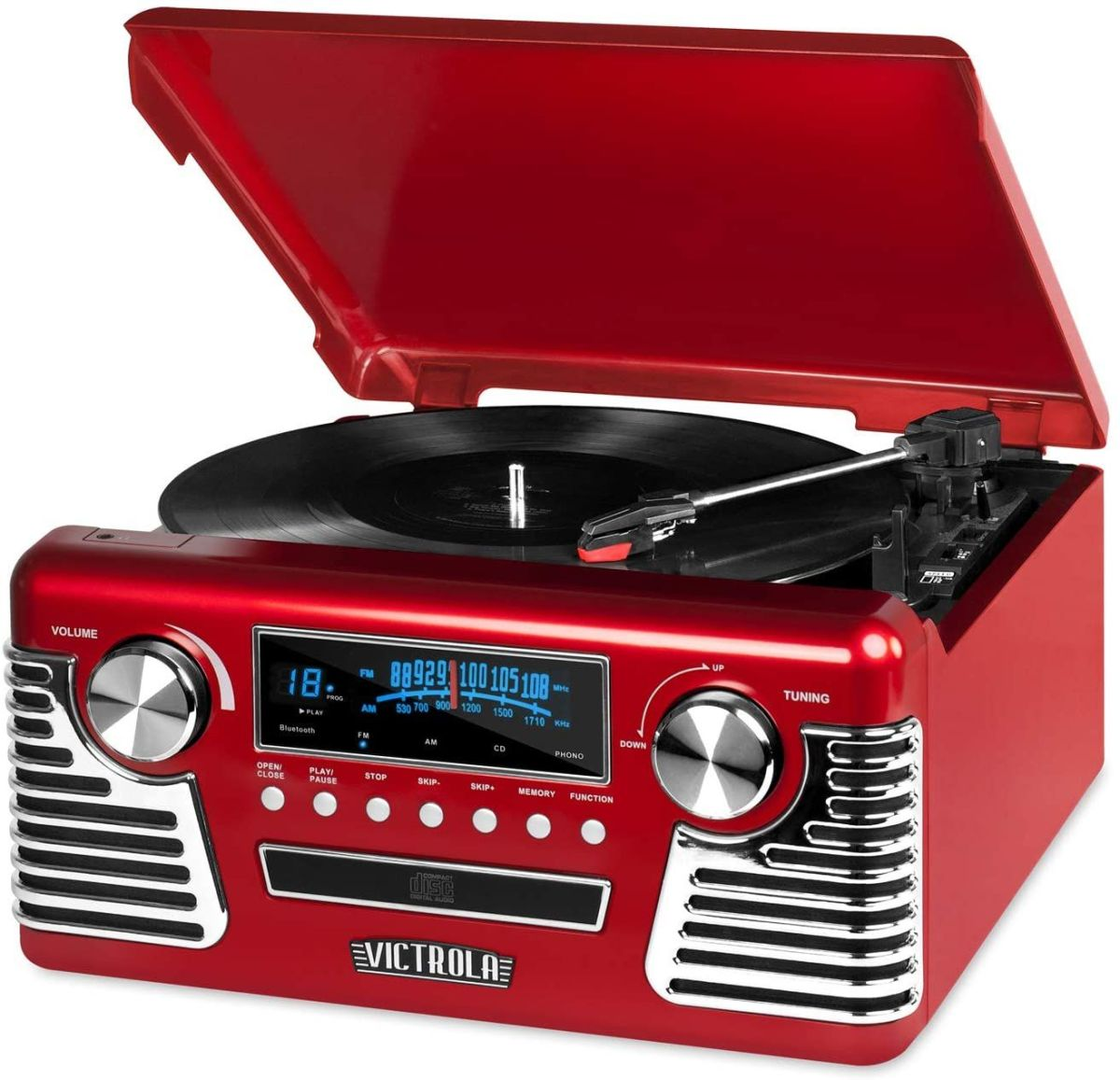 These record players on sale at Amazon would make a genius dad or grad gift